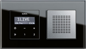 Gira Up Radio gira giersiepen if design guide