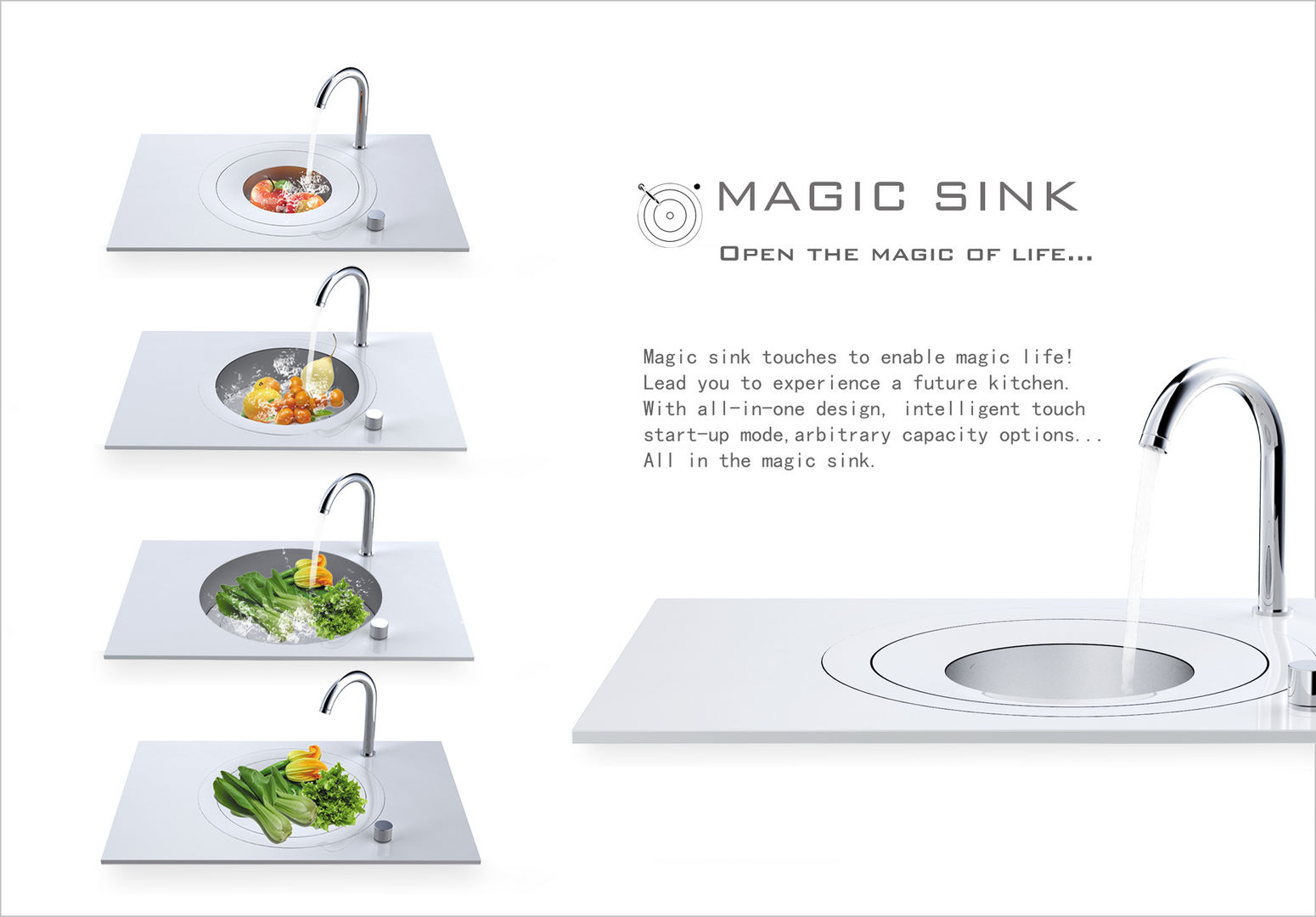 Magic Sink - Entry - iF WORLD DESIGN GUIDE