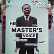His Master's Voice - Exhibition poster