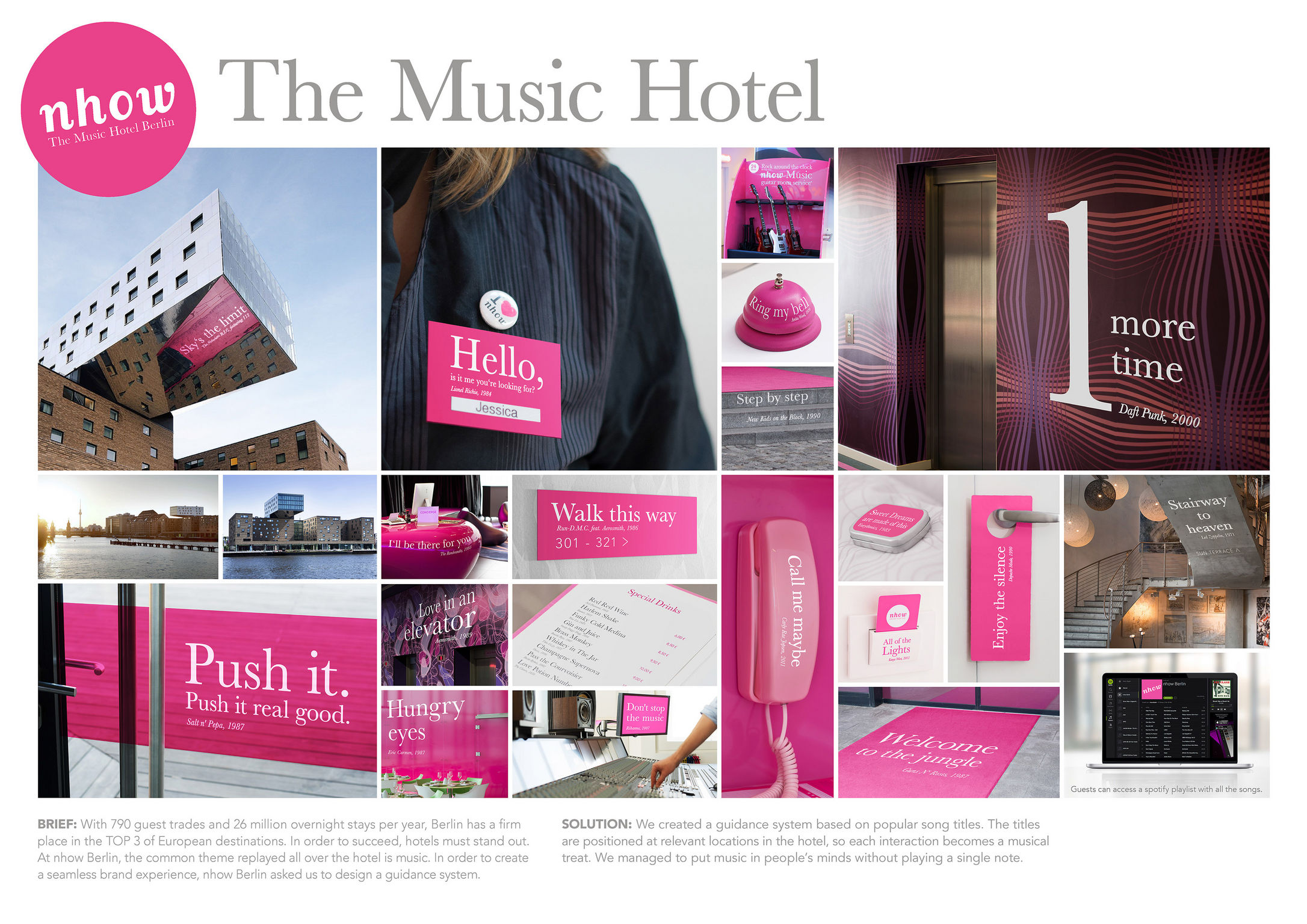 the music hotel - entry - if world design guide