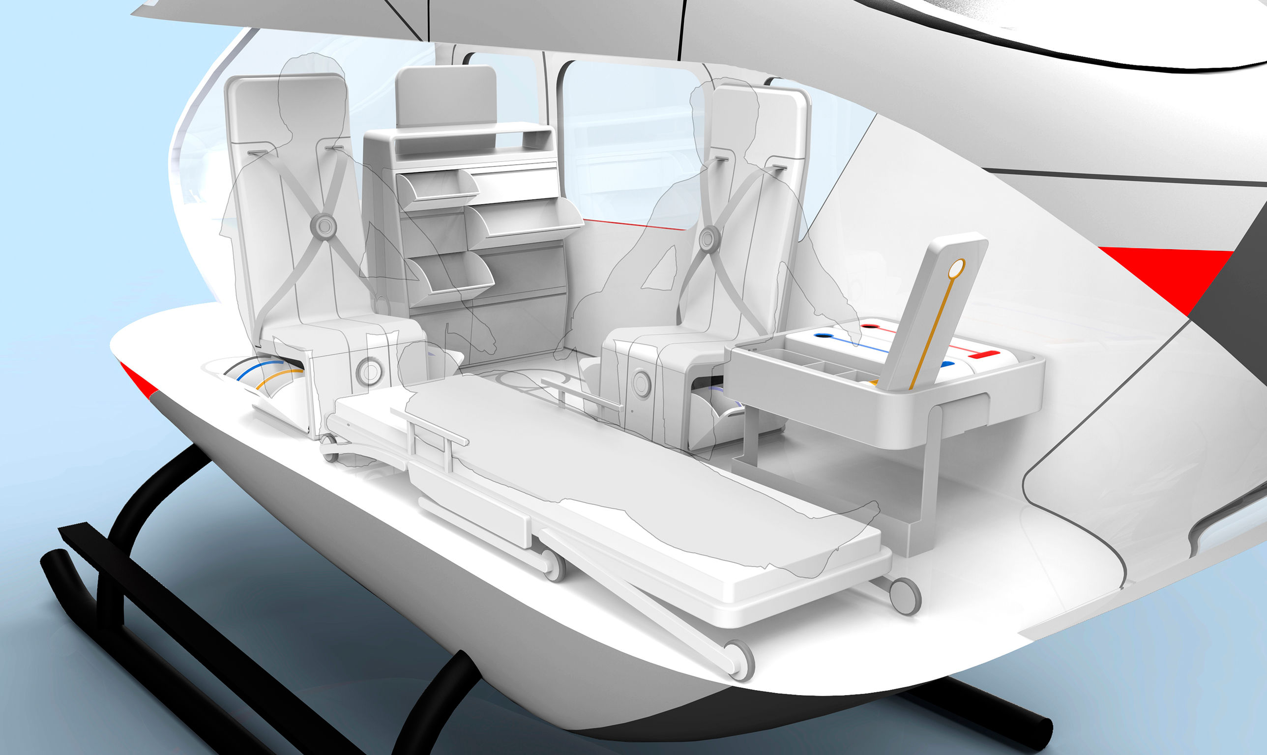air ambulance interior entry if world design guide