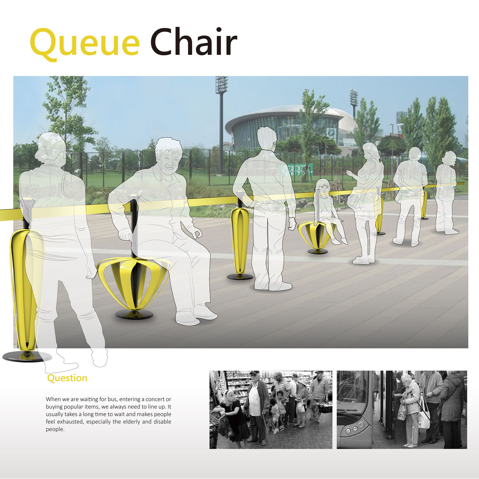 Queue Chair / belt barrier  sc 1 st  iF Design Award & Queue Chair - Entry - iF WORLD DESIGN GUIDE