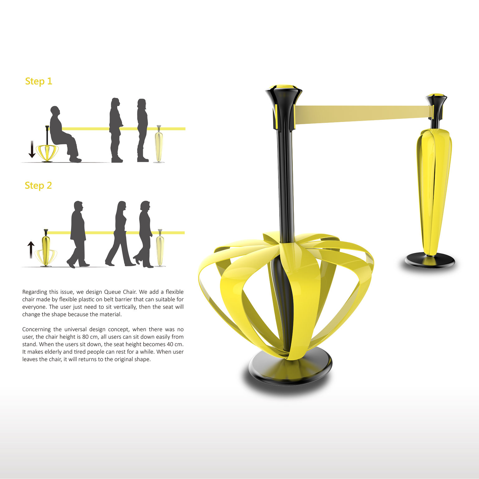Queue Chair - Entry - iF WORLD DESIGN GUIDE