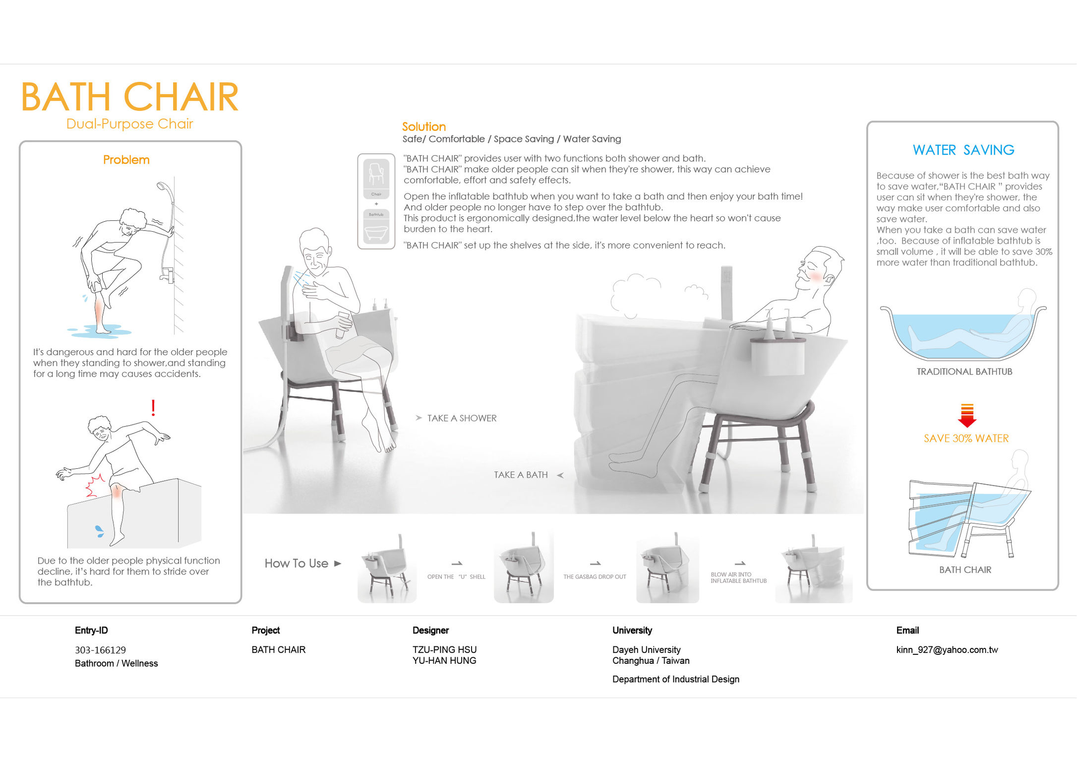 BATH CHAIR - Entry - iF WORLD DESIGN GUIDE