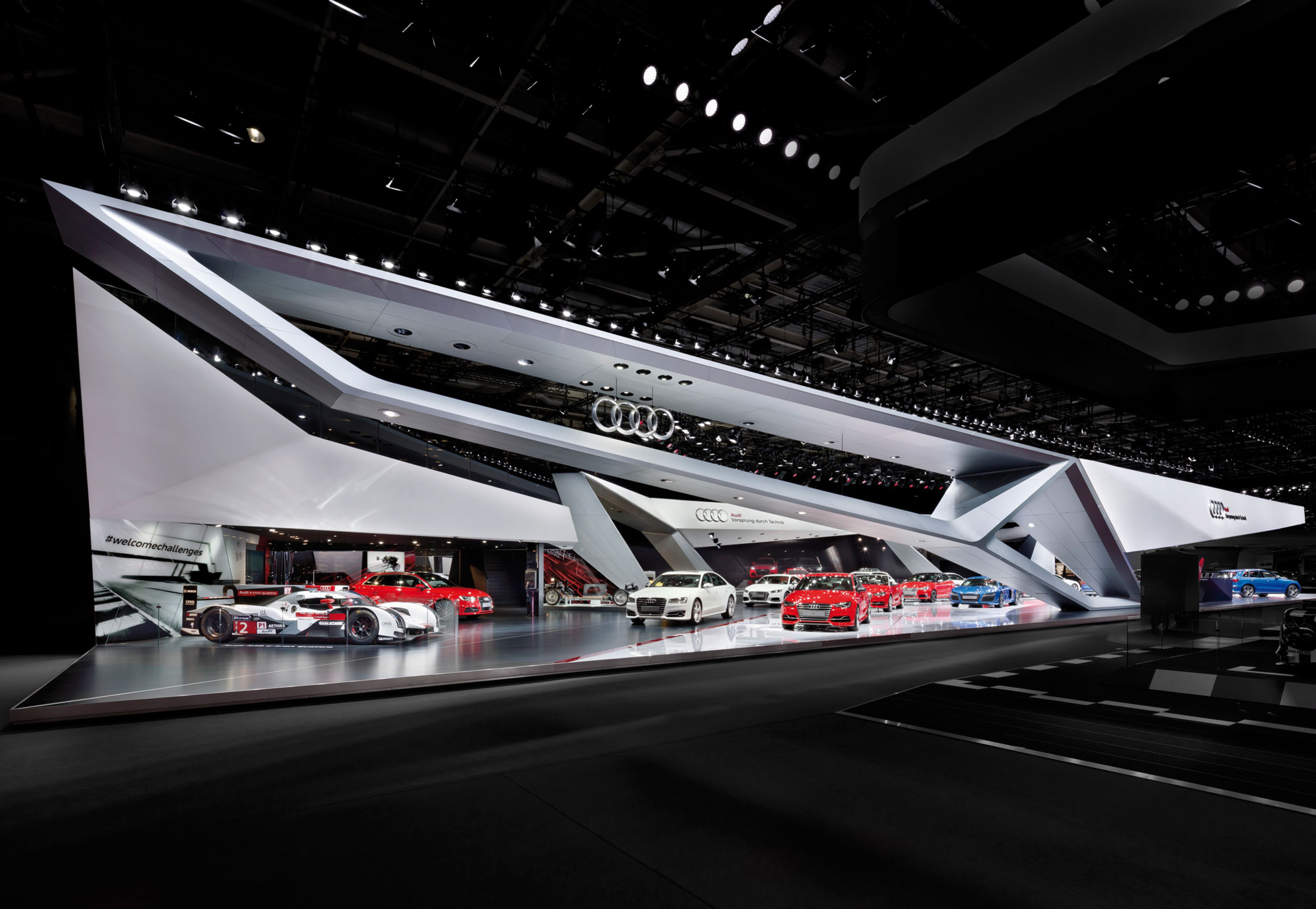 Audi Paris Motor Show 14 Entry If World Design Guide