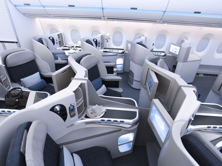 A350 xwb passagierkabine entry if world design guide for Aircraft interior designs