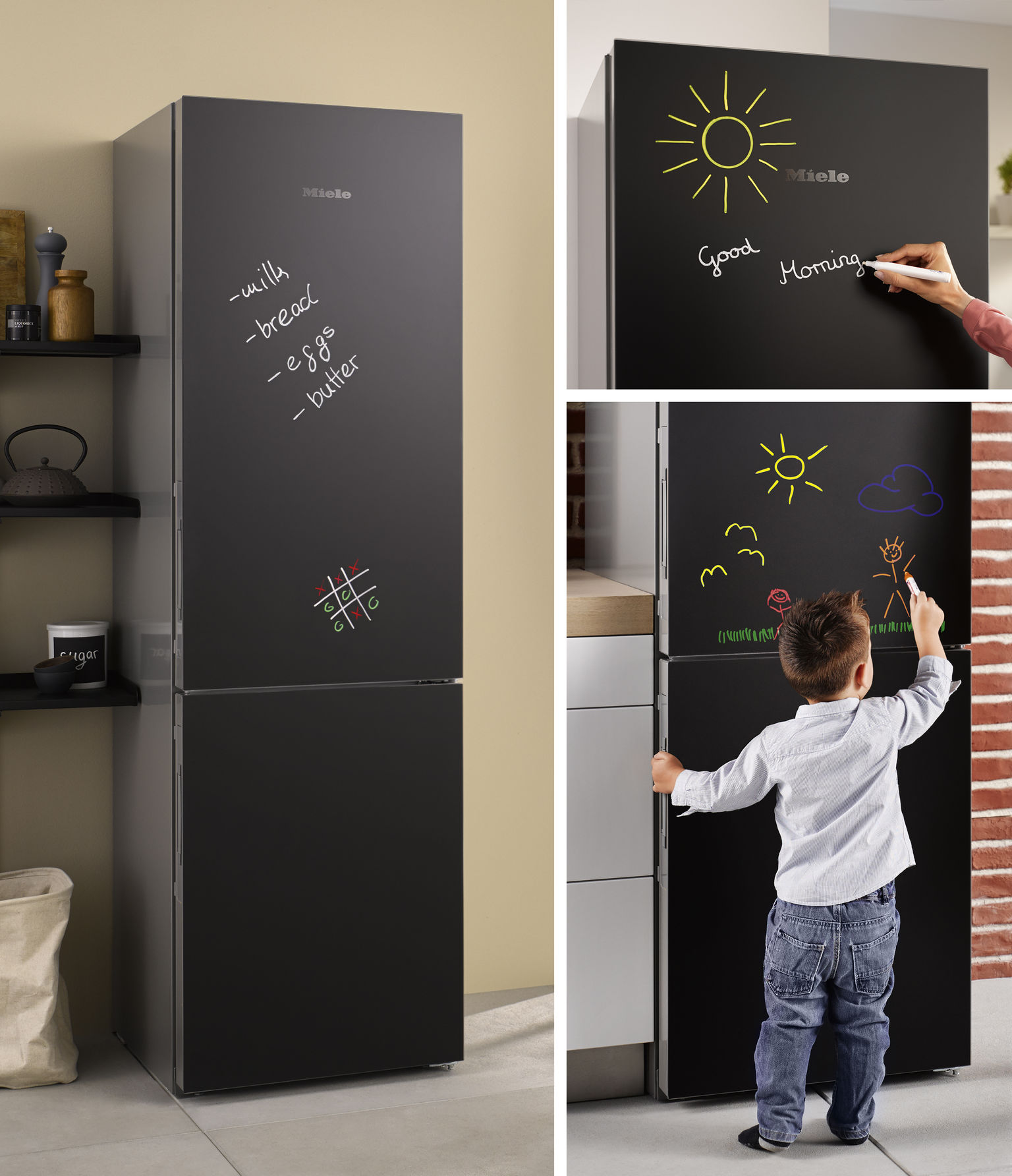 117 years in the making miele launch new blackboard fridge d i d electrical d i d electrical. Black Bedroom Furniture Sets. Home Design Ideas
