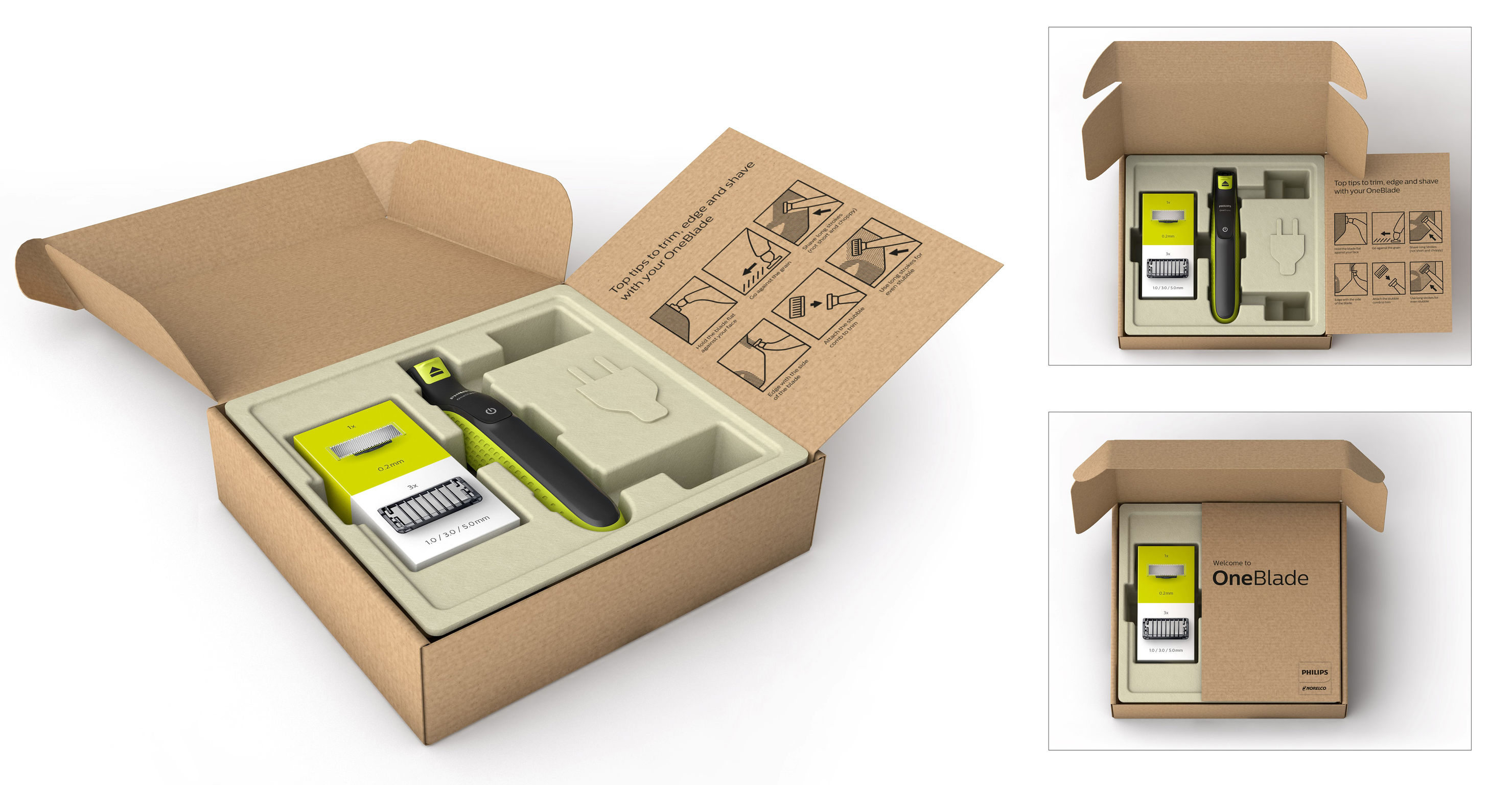 Oneblade Online Packaging Entry If World Design Guide