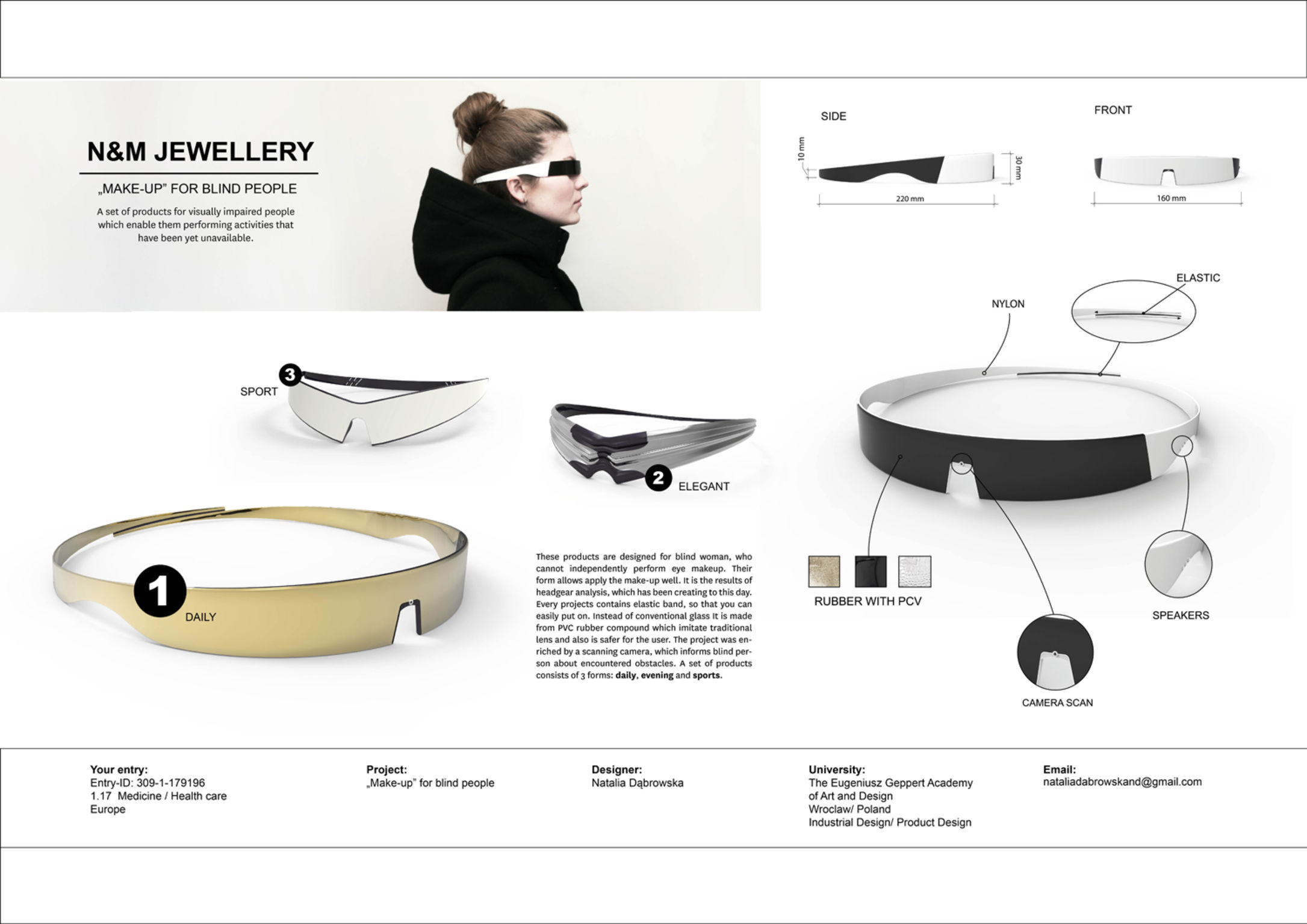 Product For Blind Person Entry IF WORLD DESIGN GUIDE