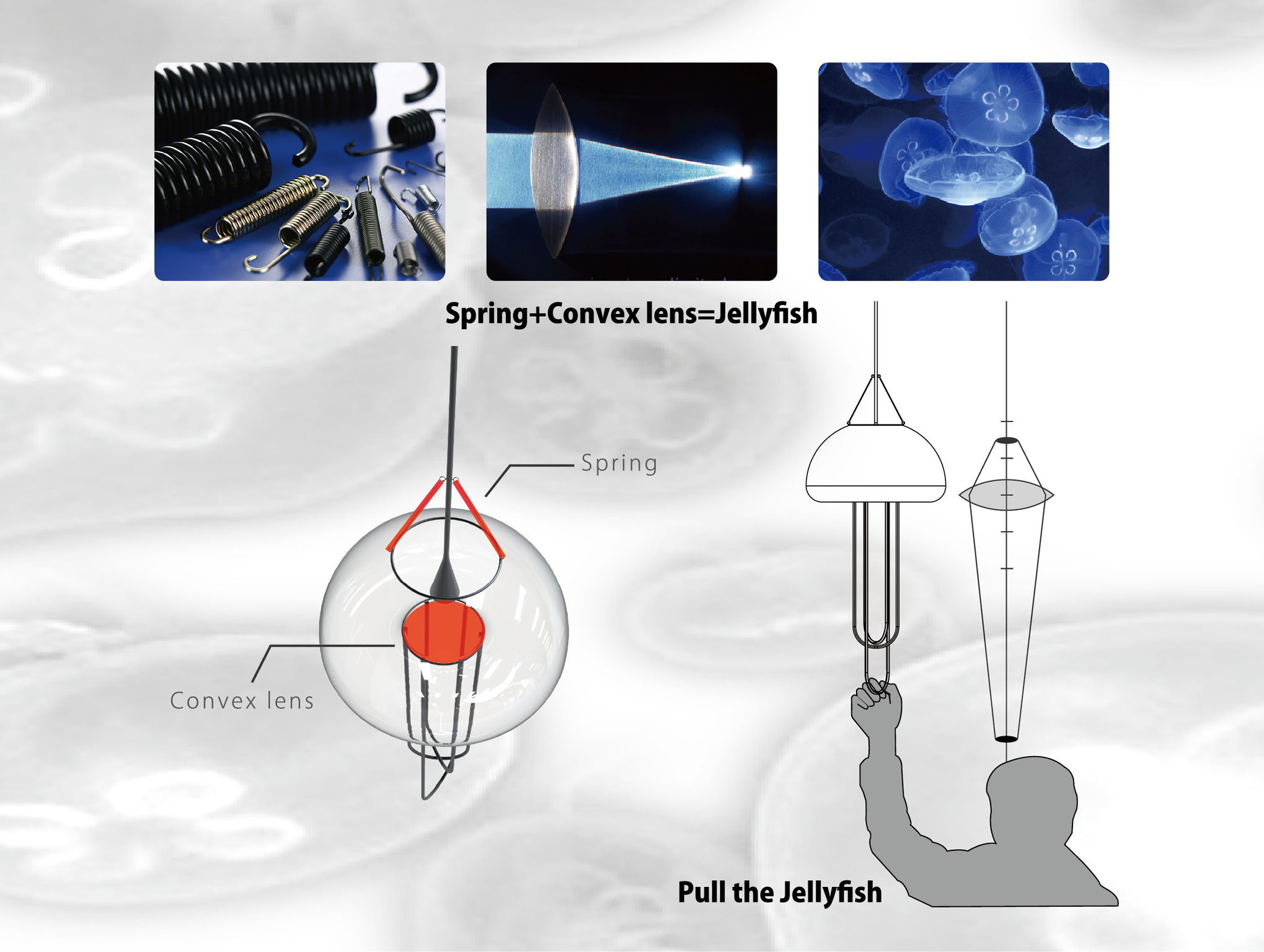 Jellyfish Chandelier Entry iF WORLD DESIGN GUIDE