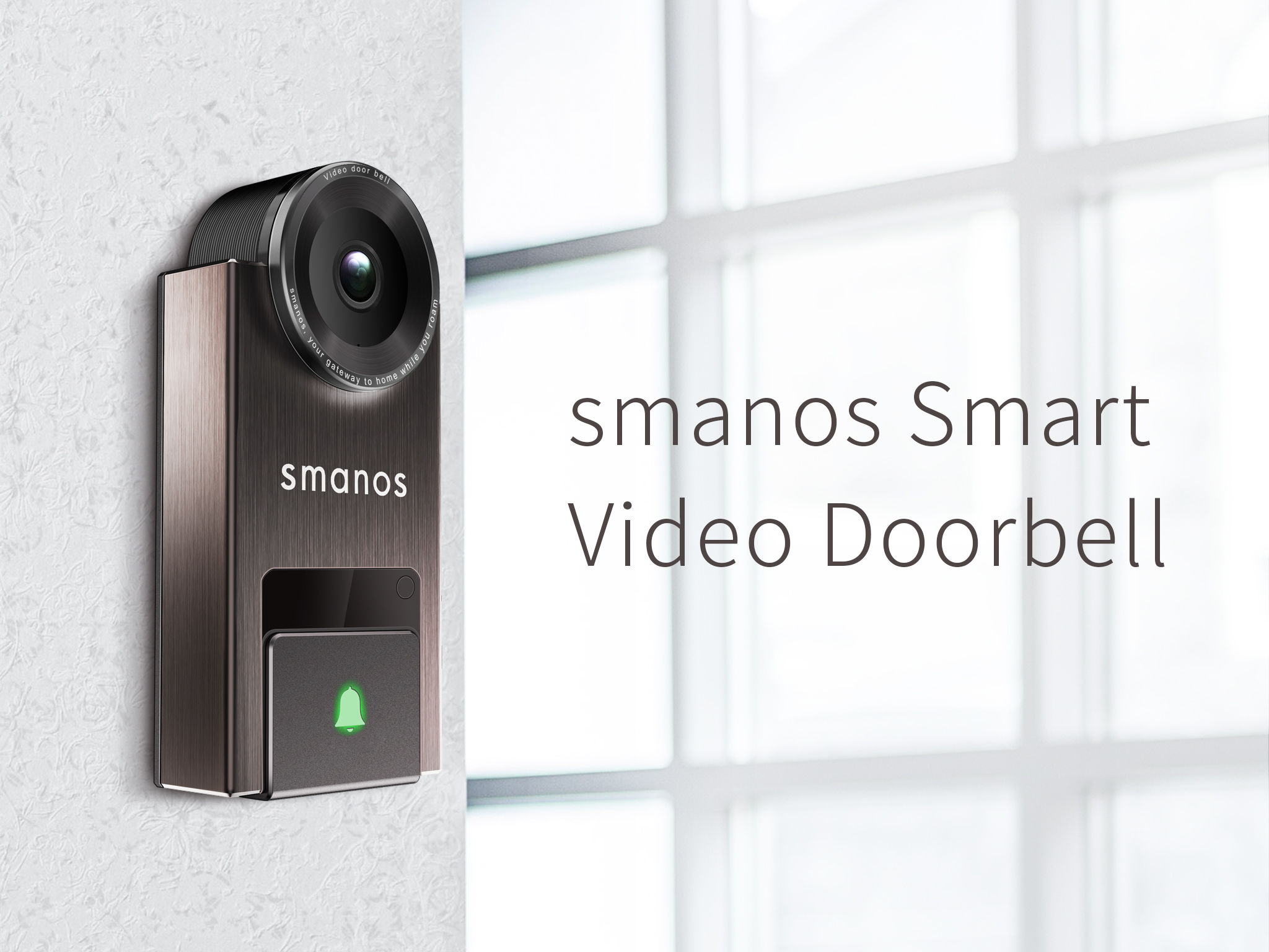 smanos Video Doorbell - Entry - iF WORLD DESIGN GUIDE