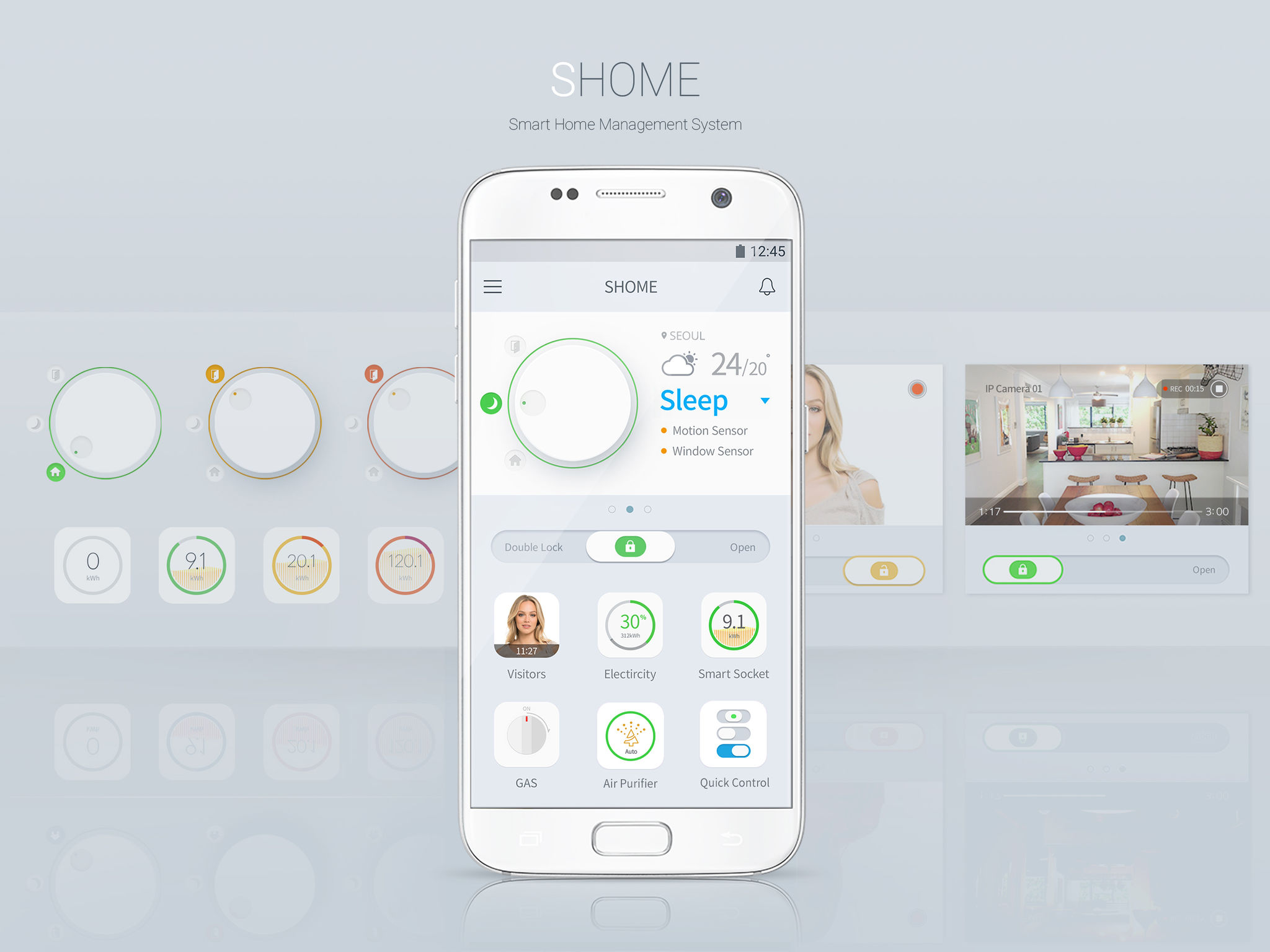 Shome Smart Home App Entry If World Design Guide