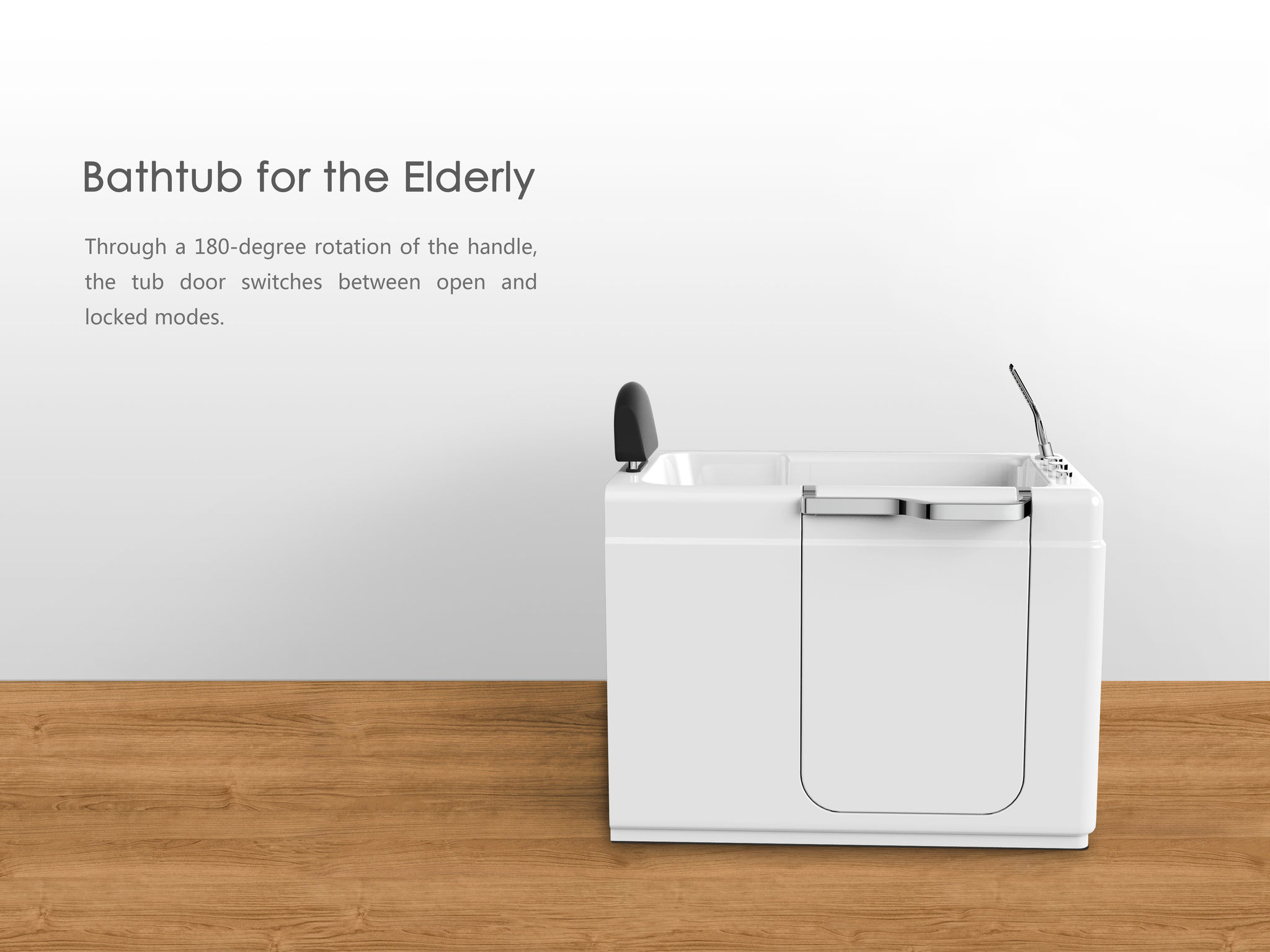 Bathtub for the Elderly - Entry - iF WORLD DESIGN GUIDE
