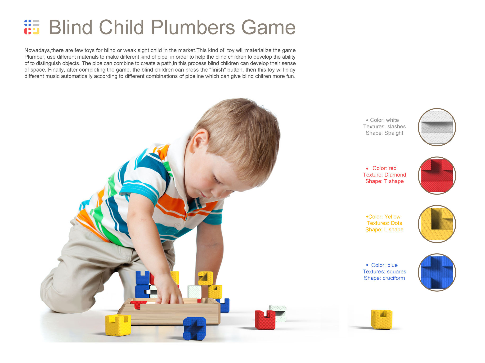 Blind Child Plumbers Game Entry iF WORLD DESIGN GUIDE